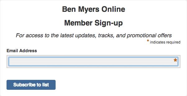 Member Sign-Up